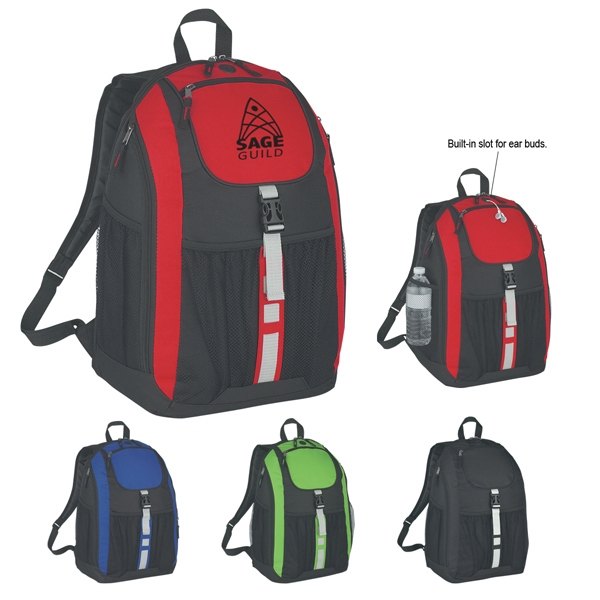 Deluxe - Backpack Made Of 600d Polyester With Web Carrying Handle Photo