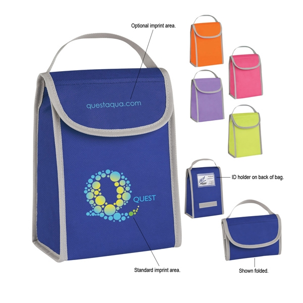 Non-woven Folding Identification Lunch Bag Photo