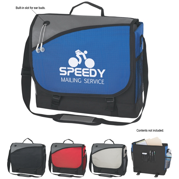 Transfer - Business Messenger Bag With Adjustable Padded Shoulder Strap Photo