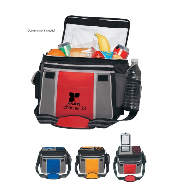 Flip Flap Kooler - Nylon/polyester Insulated Kooler Bag With Shoulder Strap Photo