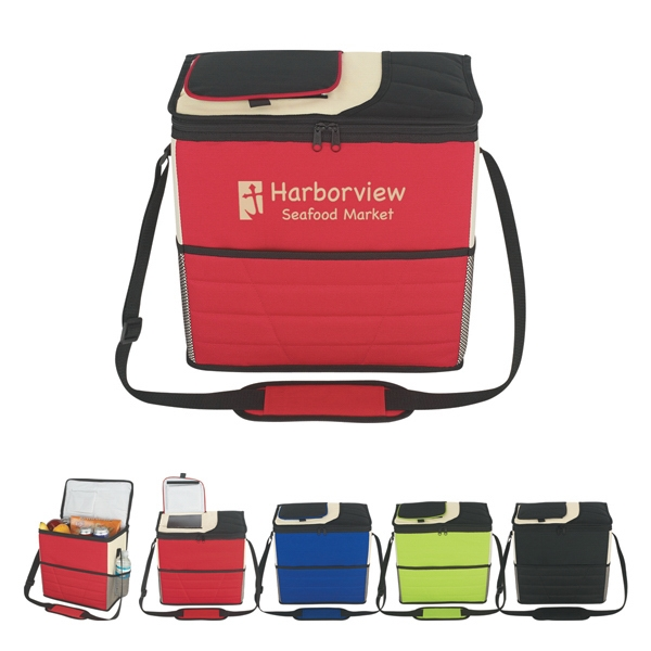 Flip Flap Kooler - Insulated Bag, Made Of 600 Denier Polyester Photo