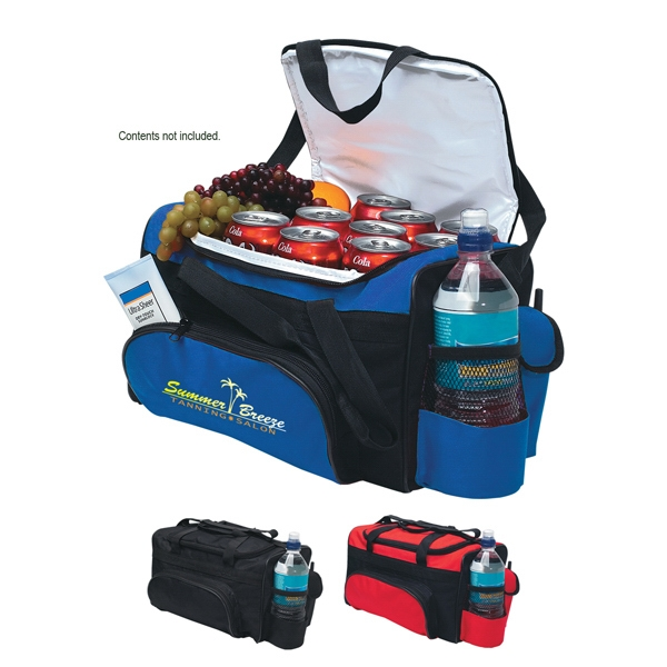 Kooler - Embroidery - Cooler Bag Made Of 600d Polyester And Peva Lining Photo