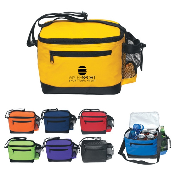 Kooler - Six Pack Cooler Bag With Top Zipper And Adjustable Shoulder Strap Photo