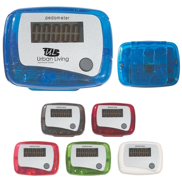 Pedometer With Single Function Easy To Read Display Photo