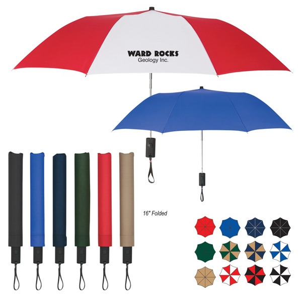 "44"" Arc Auto-open Folding Umbrella Photo"