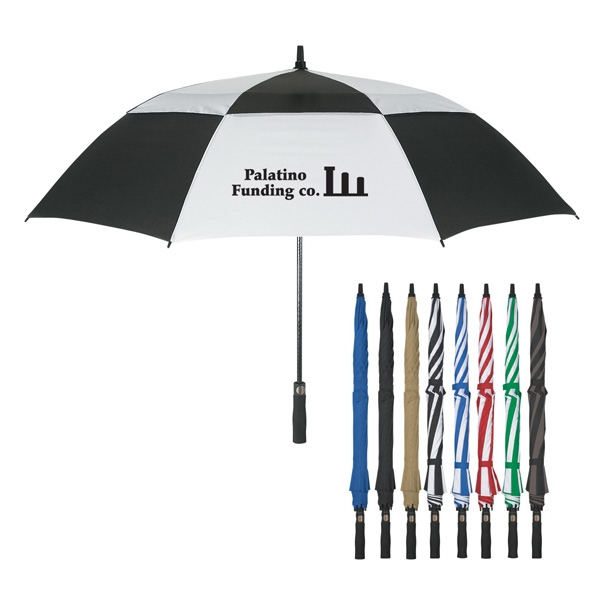 "Vented, Windproof 58"" Arc Umbrella Photo"
