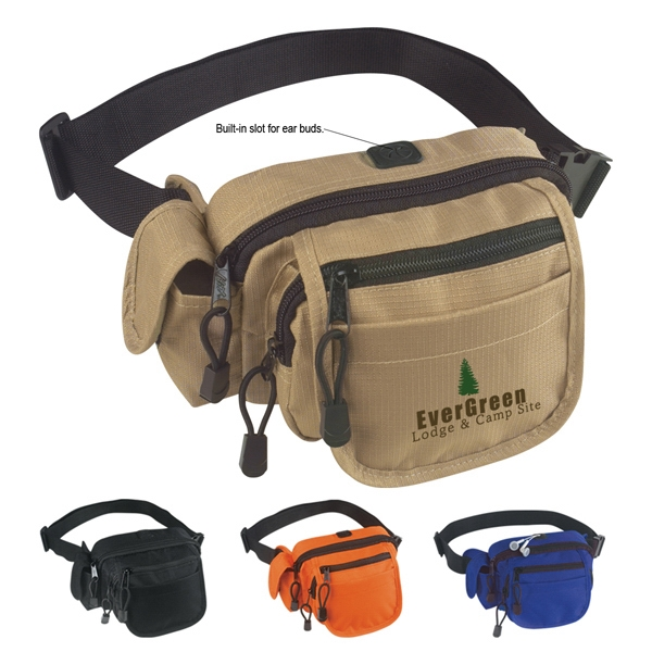 All-in-one - Fanny Pack, Ripstop Nylon With Adjustable Waist Strap And Inside Mesh Pocket Photo