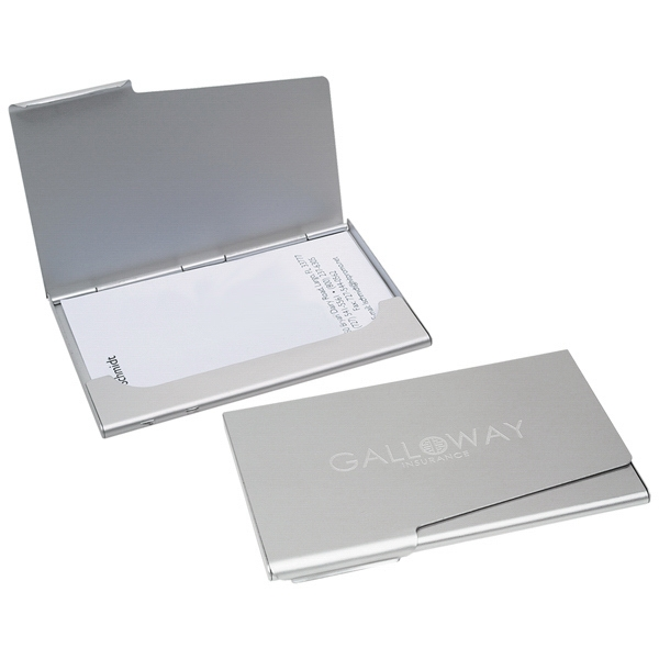 Business Card Holder, Fits In Your Pocket Or Briefcase Photo