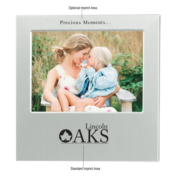 "4"" X 6"" Aluminum Photo Frame Photo"
