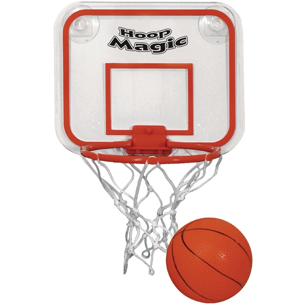Miniature Basketball And Hoop Set Photo