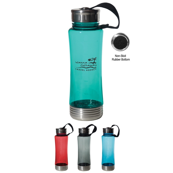 Fusion - Durable Tritan (tm) Material, 22 Oz. Water Bottle Photo