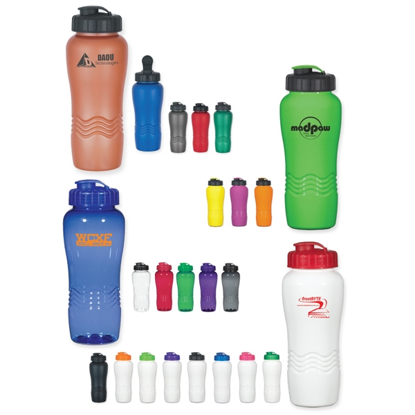 Hitgreen (tm) Poly-clean (tm) - Poly-clean (tm), 26 Oz. Water Bottle Photo