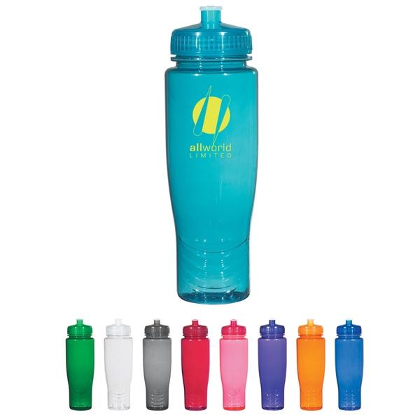 Poly-Clean (TM) 28 oz. Plastic Bottle