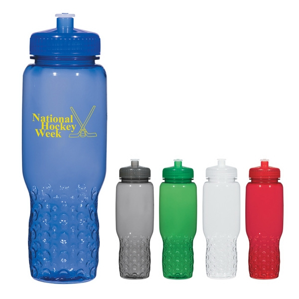 Hydroclean (tm) - 32 Oz. Sports Bottle With Groove Grippers Photo