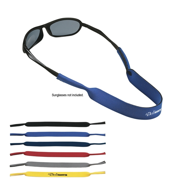 Neoprene Laminated, Open Cell Stretchable Foam Sunglass Strap Photo