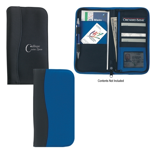 Microfiber Travel Wallet With 6 Card Holders And Many Other Compartments Photo