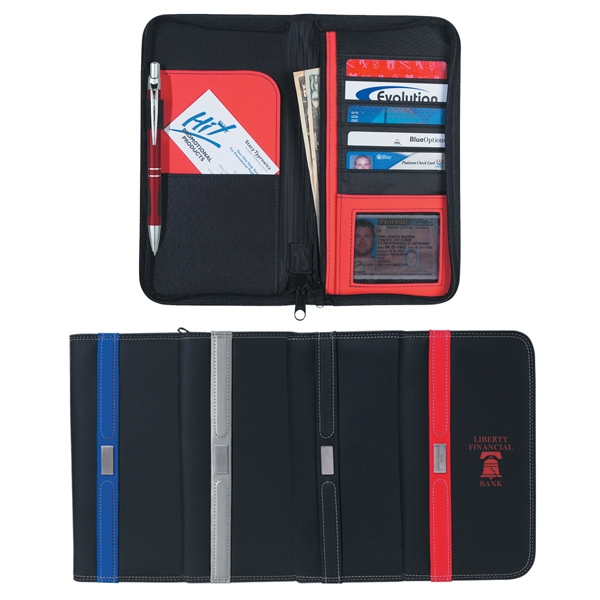 Contemporary - Travel Wallet With Zipper Photo