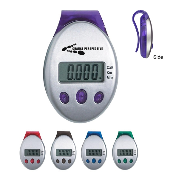 Deluxe Multi-function Pedometer With Laser Tuned Pendulum Movement Photo