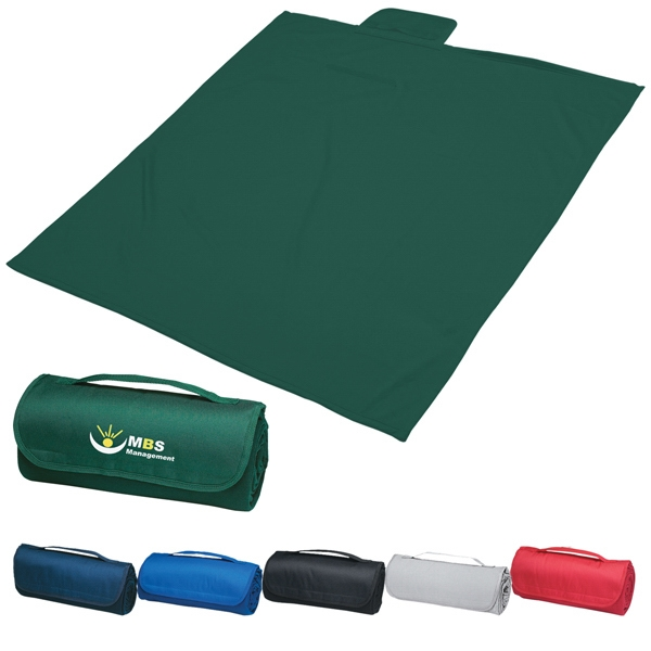 "Transfer - Large 48"" X 53"" Polyester Sweatshirt Material Blanket With Fleece Underside Photo"