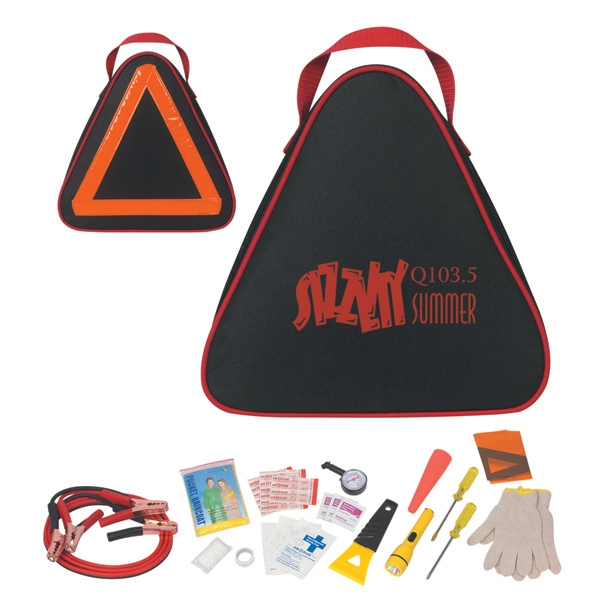 Auto Safety Kit With Reflective Tape On Back Side Photo
