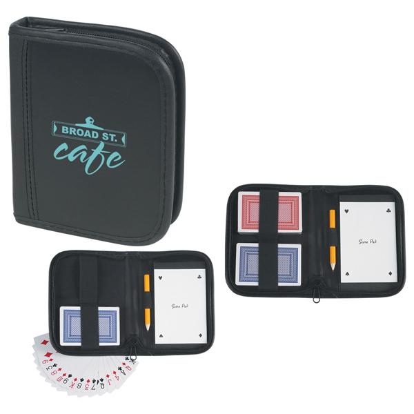 Playing Card Set With Zippered Closure Photo