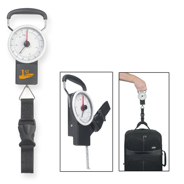 "Luggage Scale With 39"" Metal Tape Measure Photo"