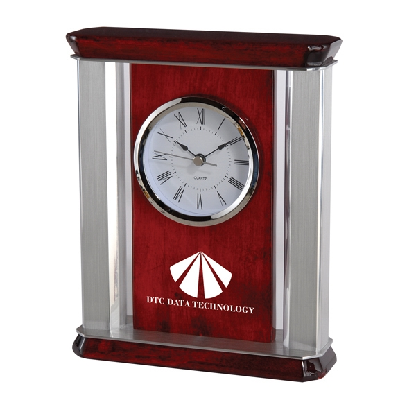 St. Lawrence - Clock. Deluxe Quartz Analog Movement Desk Clock Photo