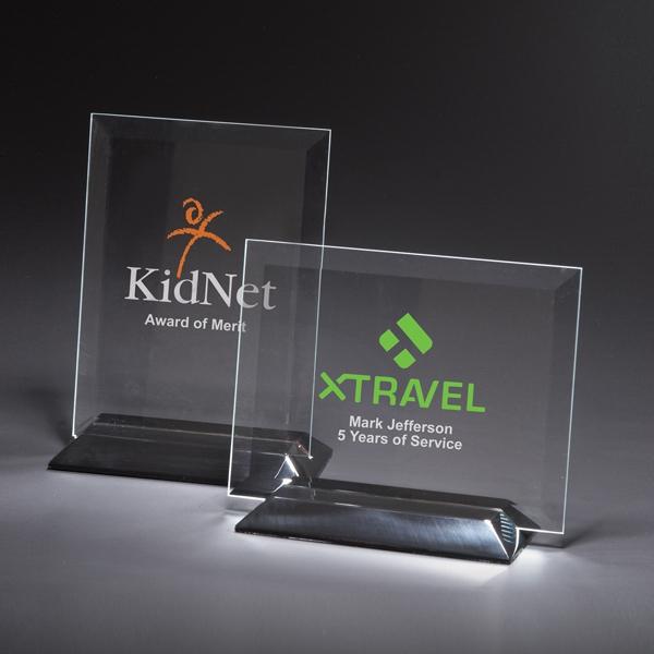 Epoch Vertical Medium Glass Award