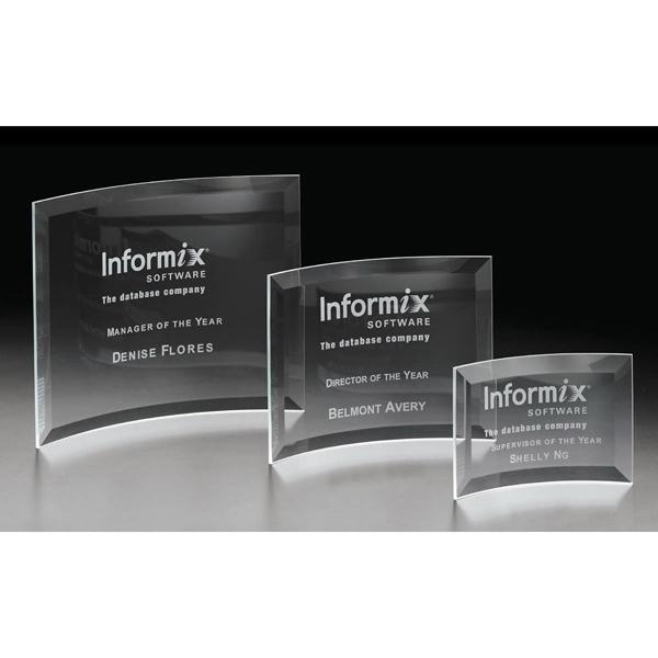 Icon Large Glass Award