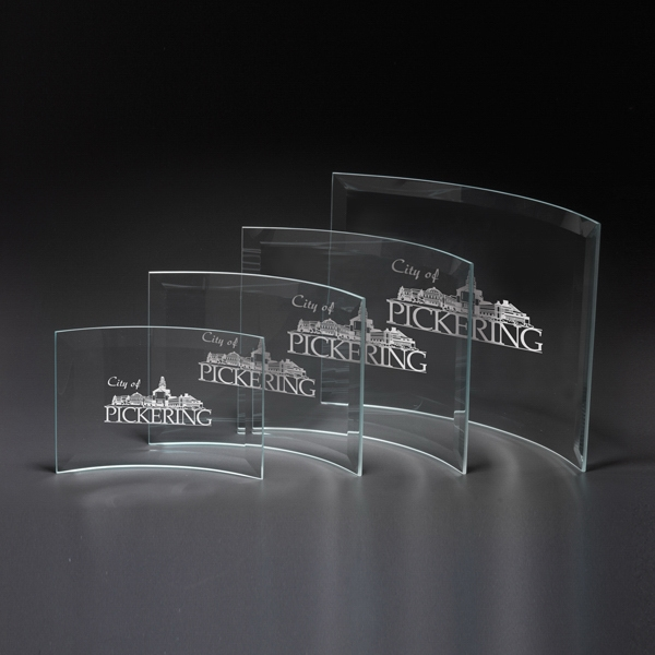 Crescent Medium Glass Award