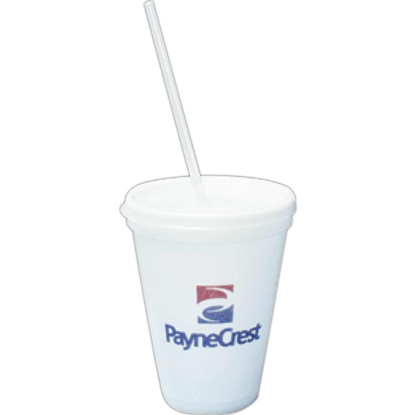"500 Line - 8"" Clear Jumbo Straws, Disposable Photo"