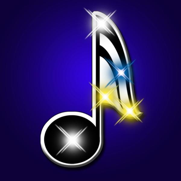 Music Note Flashing Pins