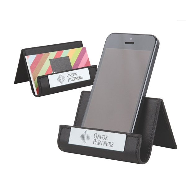Pinemax - Faux Leather Phone/business Holder Photo