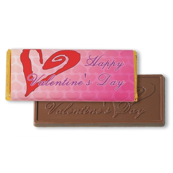 Chocolate Bar In Stock Valentine Design Wrapper, 1 3/4 Oz Photo