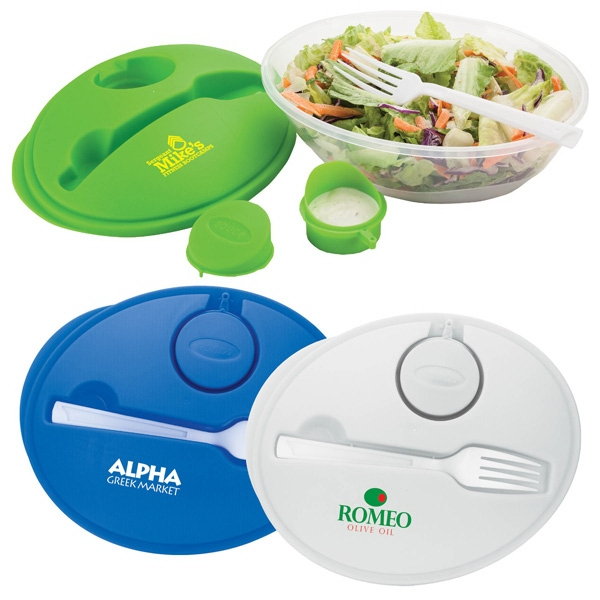 Salad Bowl Set With Snap Closure Cover Photo