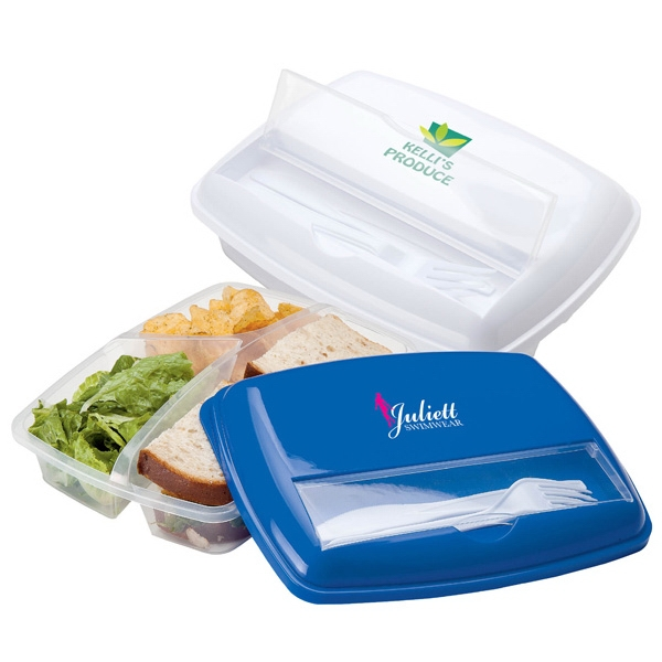 Lunch Container Made Of Polypropylene Material Photo