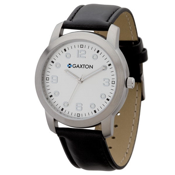 Men's 39mm - Watch With Brushed Silver Metal Case Photo