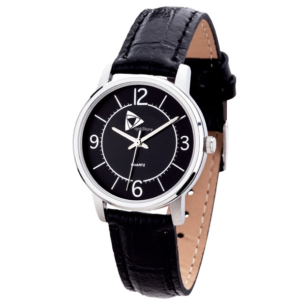 Women's 32mm - Watch With Silver Metal Case, Modern Style Photo