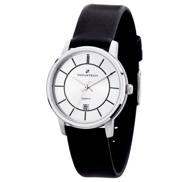 Women's 32mm - Stylish Dial Design Watch With Silver Metal Case Photo