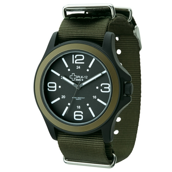 Unisex Watch With Matte Black Metal Case Photo