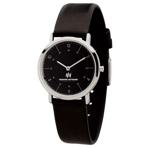 Women's 30mm - Watch With Slim And Classy Natural Leather Strap Photo