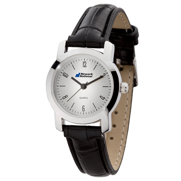 Women's 27mm - Classic Style Watch With Polished Silver Finish Photo