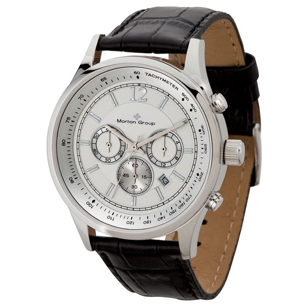 Men's 43mm - Chronograph Watch Date Display Photo