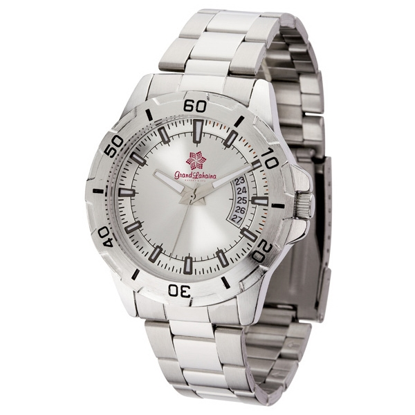 Men's 41mm - Watch With Brushed Silver Metal Case Photo