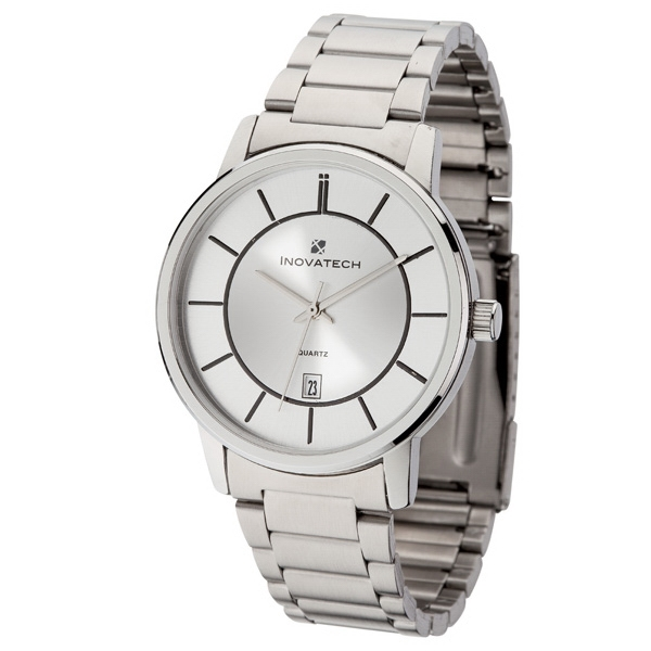 Men's 40mm - Watch With Silver Metal Case Photo