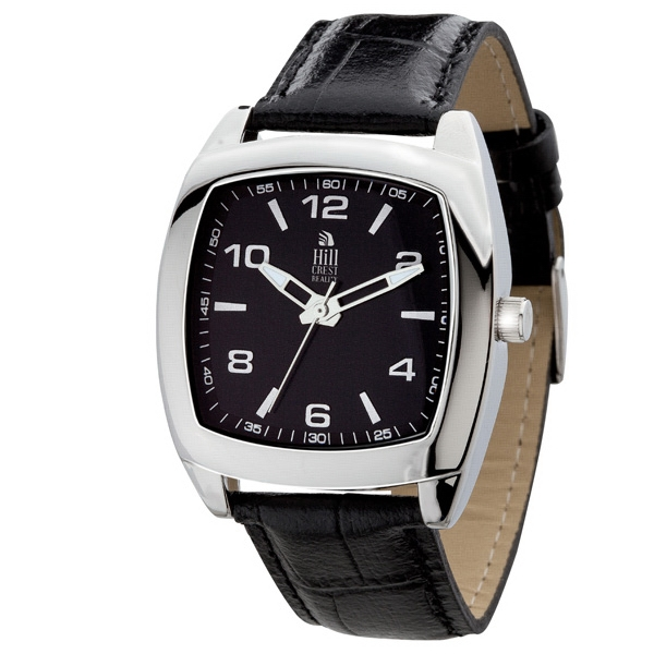 Men's 39mm - Watch With Polished Silver Metal Case Photo