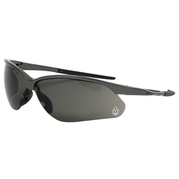 Phenix - I/o Mirror Lens - Safety Glasses With Bayonet-style Wraparound Lenses And Rubberized Temple Photo