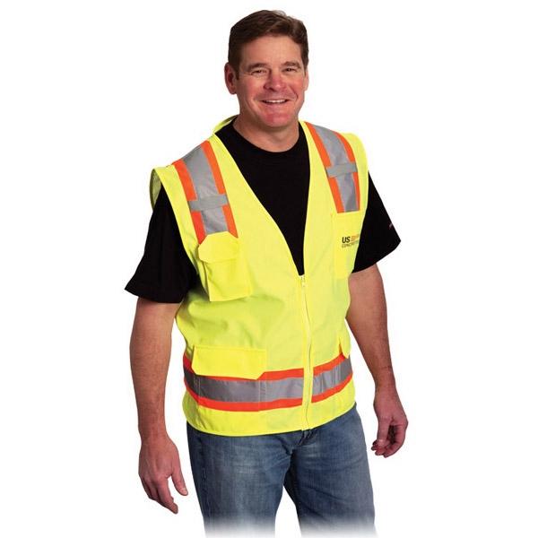Two Tone 6 Pocket Surveyors Vest