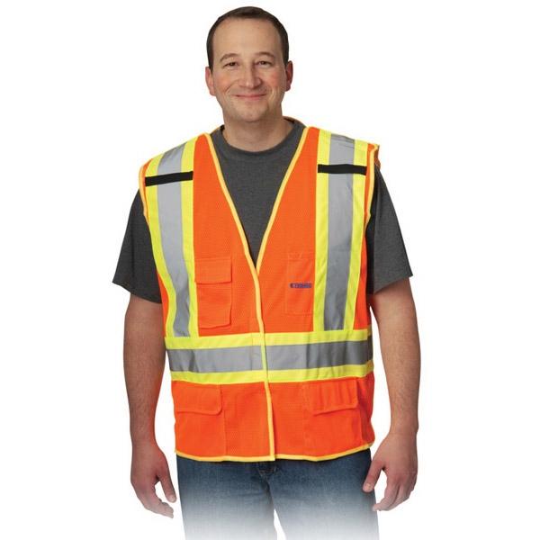 X-Back Breakaway Two-Tone Mesh Vest