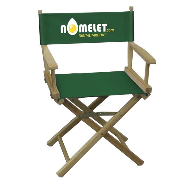 Table Height Original Directors Chair With 2-color Imprint Photo